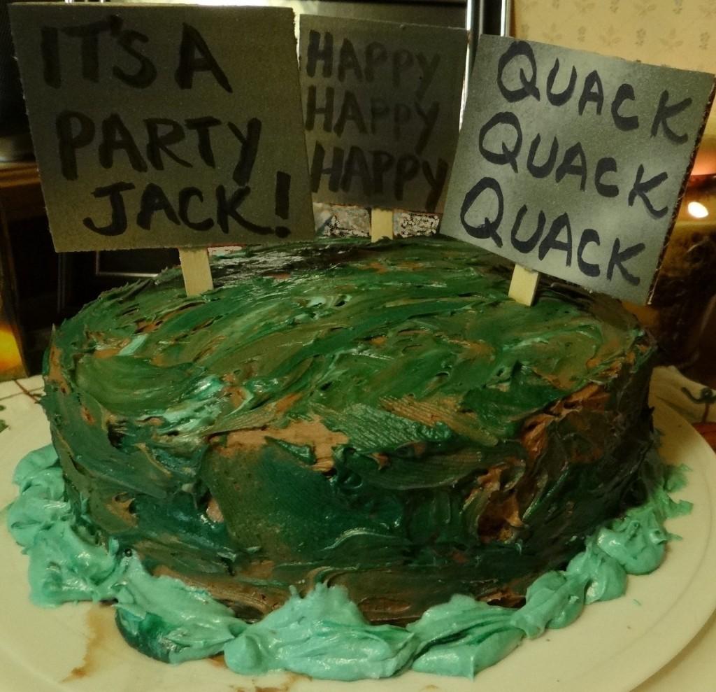 Peachy Duck Dynasty Party Ideas Personalised Birthday Cards Veneteletsinfo