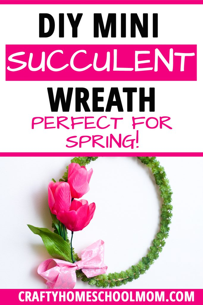 Succulent Wreath A Diy That S Perfect For Spring Decorating
